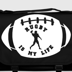 rugby is my life Tassen - Schoudertas