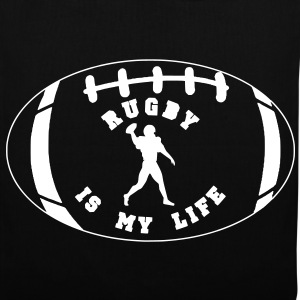 rugby is my life Sacs - Tote Bag