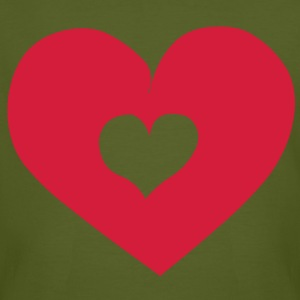 Heart Love T-Shirts - Men's Organic T-shirt