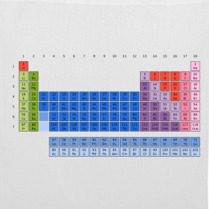 Periodic Table of the Elements Bags  - Tote Bag