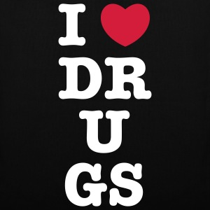 I heart drugs - Stoffbeutel