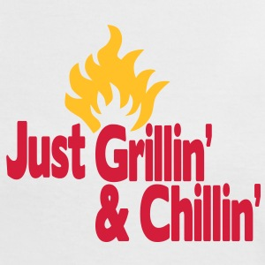 just grillin' and chillin' / just grilling and chilling 2c T-shirt - Maglietta Contrast da donna