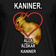 Design ~ Kaniner T-shirt (Men)