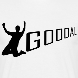 Goal Celebration  T-shirts - Mannen T-shirt