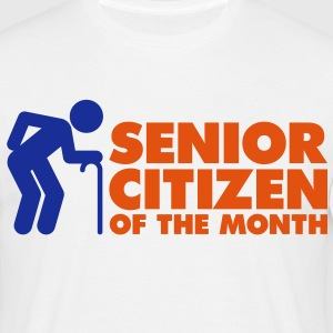 Senior Citizen 4 (2c)++ T-shirts - Mannen T-shirt
