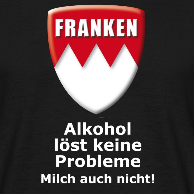 Alkohol löst keine Probleme. Milch auch nicht.