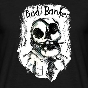 Bad Banker T-shirts - Herre-T-shirt