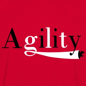 Agility tunnel T-shirts - Mannen contrastshirt