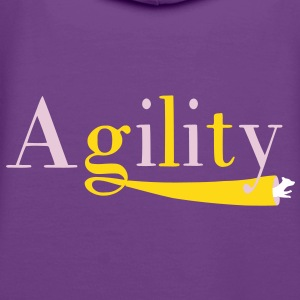 Agility tunnel Sweat-shirts - Sweat-shirt à capuche Premium pour femmes