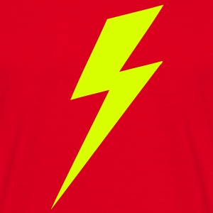 Lightning Bolt VECTOR T-Shirts - Männer T-Shirt