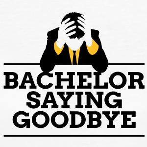 Bachelor Saying Goodbye 4 (2c)++ T-shirts - Organic damer