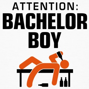 Attention Bachelor Boy 3 (2c)++ T-shirts - Organic mænd