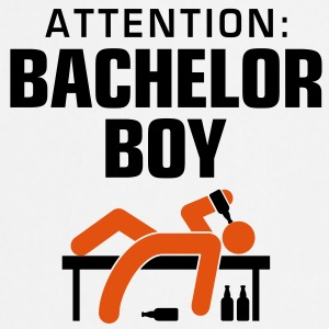 Attention Bachelor Boy 3 (2c)++ Tabliers - Tablier de cuisine