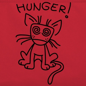 Small cat is very hungry bolsas - Bandolera retro