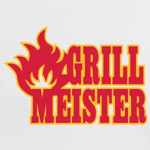 grill meister T-shirts - Vrouwen contrastshirt