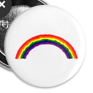 rainbow Buttons - Buttons small 25 mm