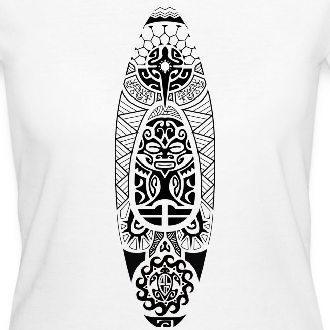 T-shirt kayak maori II Femme