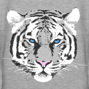 Tigre blanc Sweat-shirts - Sweat-shirt à capuche Premium pour femmes