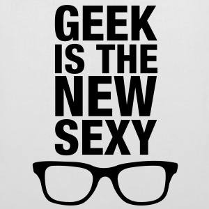 Geek is the new sexy - Stoffbeutel