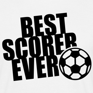 BEST SCORER EVER T-Shirt BW - Mannen T-shirt