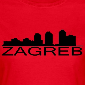 Zagreb skyline - Frauen T-Shirt