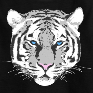 White Tiger Kinder T-Shirts - Teenager T-Shirt