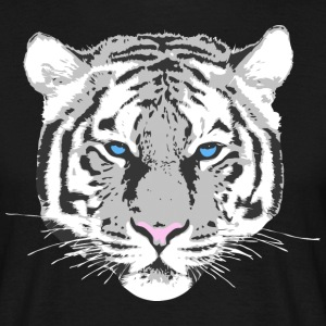 White Tiger T-Shirts - Men's T-Shirt