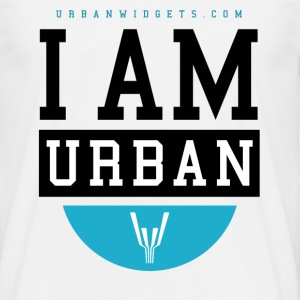 i Am Urban I Blue - Summer - Männer T-Shirt