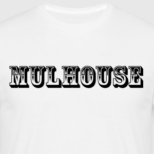 t-shirt homme Mulhouse Front.  - T-shirt Homme