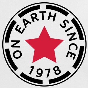 on earth since 1978 (es) Camisetas - Camiseta contraste mujer