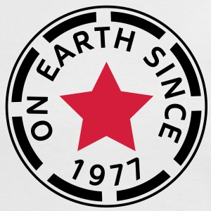 on earth since 1977 (es) Camisetas - Camiseta contraste mujer