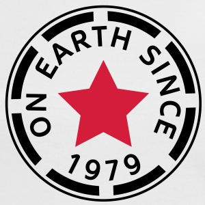 on earth since 1979 (es) Camisetas - Camiseta contraste mujer