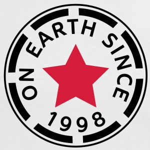 on earth since 1998 (de) T-Shirts - Frauen Kontrast-T-Shirt