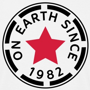 on earth since 1982 (de) T-Shirts - Männer T-Shirt