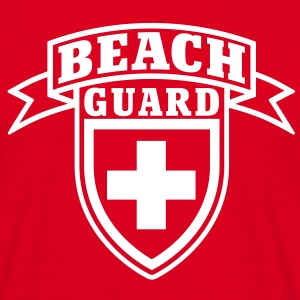Beach Guard T-Shirts - Camiseta hombre