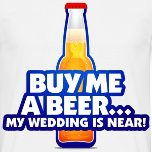Buy Me A Beer 2 (dd)++ T-shirts - Mannen T-shirt