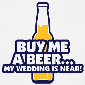 Buy Me A Beer 2 (2c)++ T-shirts - Mannen T-shirt
