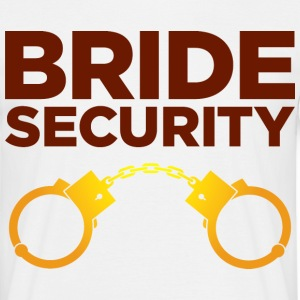 Bride Security 4 (dd)++ T-Shirts - Men's T-Shirt