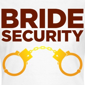 Bride Security 4 (dd)++ T-Shirts - Frauen T-Shirt