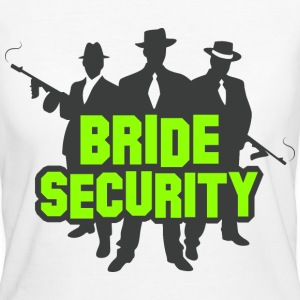 Bride Security 1 (dd)++ T-Shirts - Frauen Bio-T-Shirt