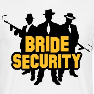 Bride Security 1 (2c)++ Camisetas - Camiseta hombre