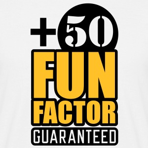 Fun Factor +50 | guaranteed T-Shirts - Herre-T-shirt