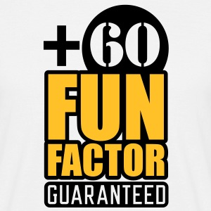 Fun Factor +60 | guaranteed T-Shirts - Herre-T-shirt