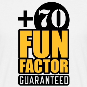 Fun Factor +70 | guaranteed T-Shirts - Herre-T-shirt