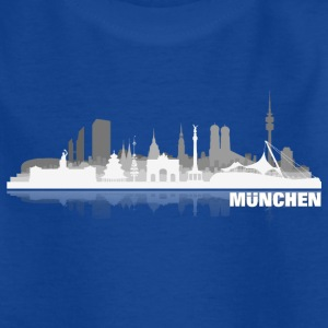 muenchen02hell Kinder T-Shirts - Teenager T-Shirt