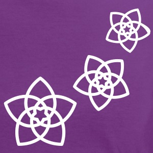 Venus flowers Vector - FLOWER OF LOVE, (2), symbol of love, balance and beauty T-Shirts - Women's Ringer T-Shirt