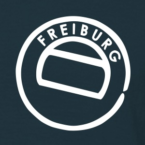 Navy freiburg T-Shirts - Men's T-Shirt
