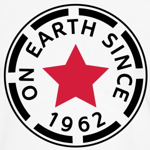 on earth since 1962 (es) Camisetas - Camiseta contraste hombre