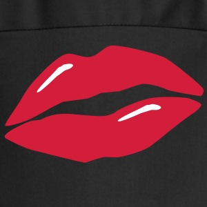 lips / kiss / mouth Delantales - Delantal de cocina