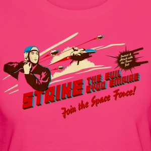 Join the Space Force (brightshirt) T-Shirts - Frauen Bio-T-Shirt
